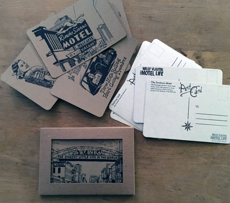 Motel Life Postcards