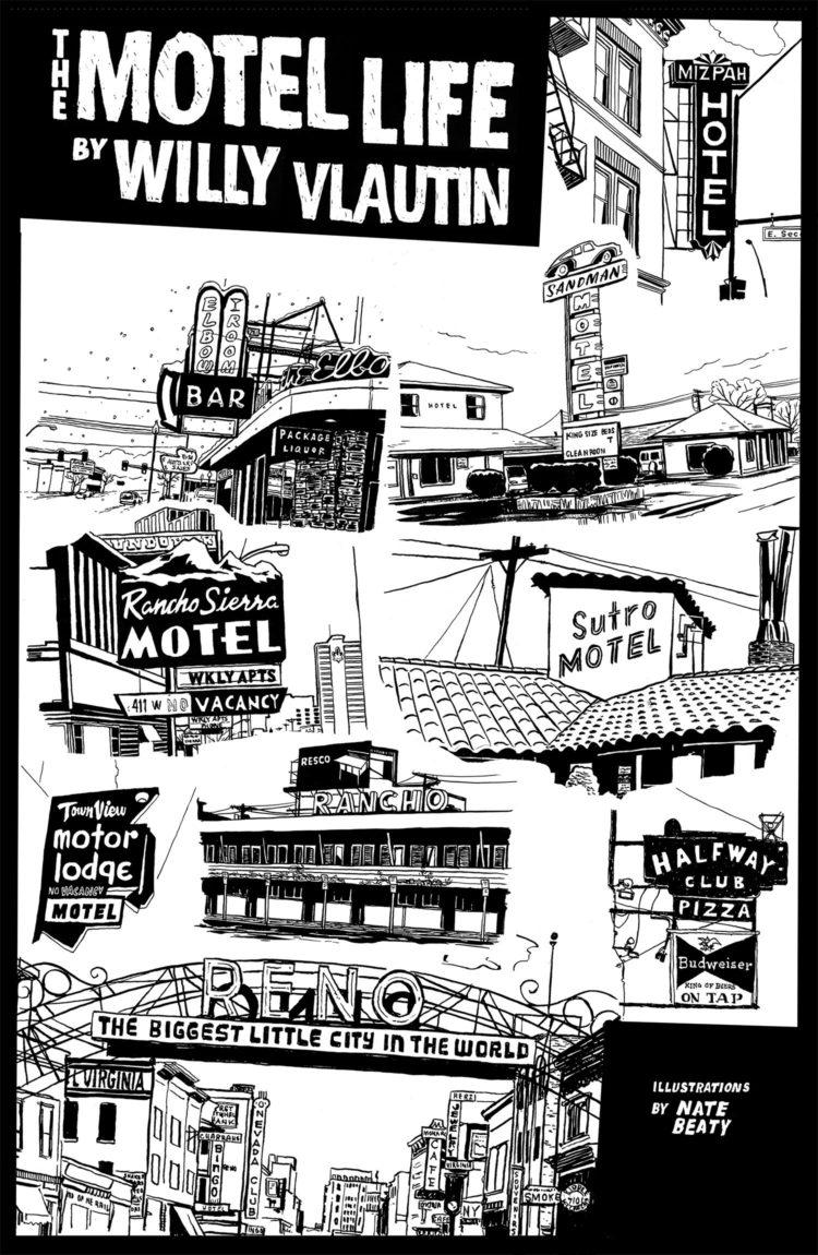 Motel Life Poster 2007 Tabloid