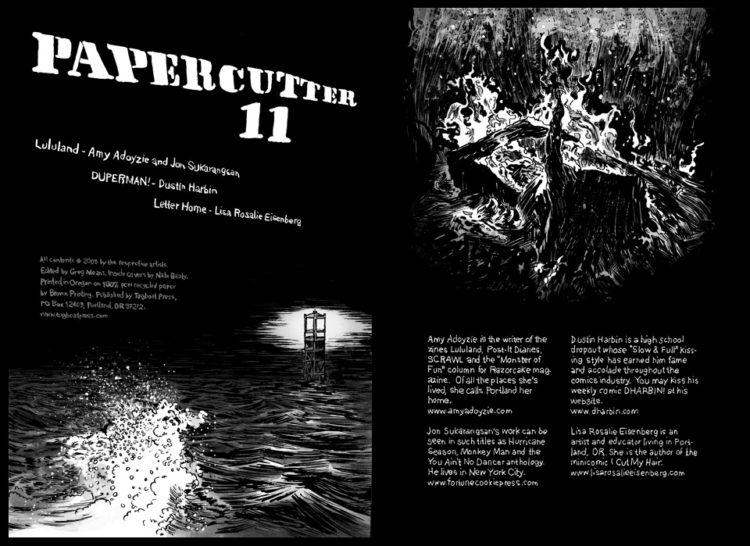 Papercutter 11 Spread