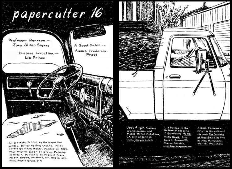 Papercutter 16 Spreads