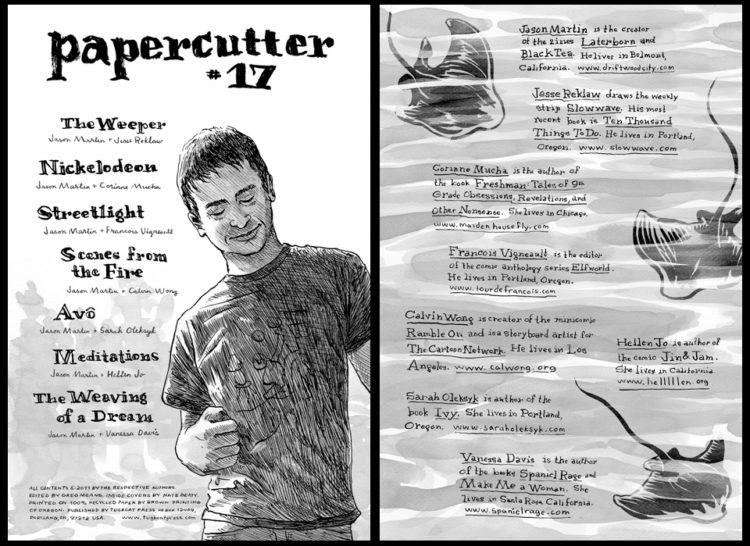 Papercutter 17 Spreads